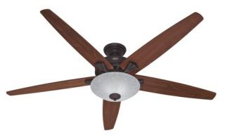 Hunter Stockbridge 70 Ceiling Fan Model 23963 in New Bronze with