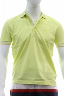 Hugo Boss Mens Modern Fit Paddy Polo Pastel Yellow Shirt 50198254