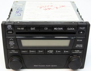 Ford Escape 05 06 07 Factory 6 Disc Changer CD Player Radio