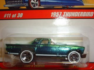 57 Ford Thunderbird 2005 Hot Wheels Classics Series 2 #11 of 30 / 1957