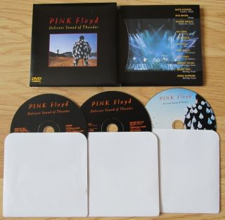 PINK FLOYD DELICATE SOUND OF THUNDER 2 CD DVD