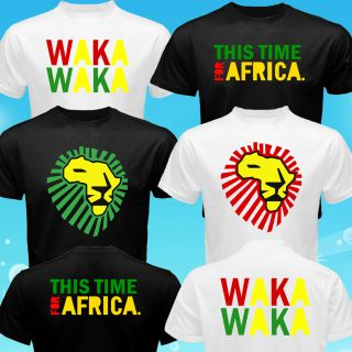 Custom Waka Waka Time for Africa World Cup FIFA T Shirt