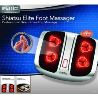 NEW* Homedics Shiatsu Elite Foot Massager PROFESSIONAL DEEP KNEADING