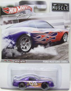 Ford Mustang Cobra Muscle 2012 Hot Wheels Racing Diecast Model 1 64