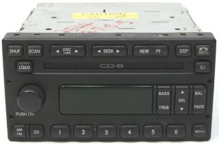 2001 2002 2003 2004 Ford Escape Factory 6 Disc Changer CD Player Radio