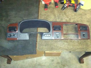 04 07 Ford F250 F350 Wood Grain Dash Bezel Nice