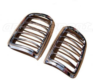 04 08 Ford F150 Chrome Taillight Cover Bezel Trims 2pcs