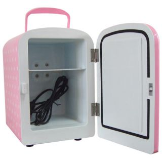 Compact Mini Refrigerator Fridge Cooler Warmer Portable