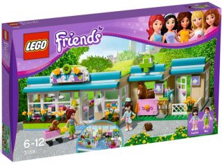 Lego Friends 3188 Heartlake Vet New in Box