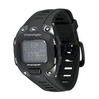 NEW* Freestyle Mens Tide 3.0 Black Digital Chronograph Quartz Watch