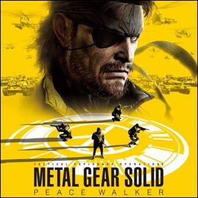 Metal Gear Solid Peace Walker Sony PSP Original Game Soundtrack Music