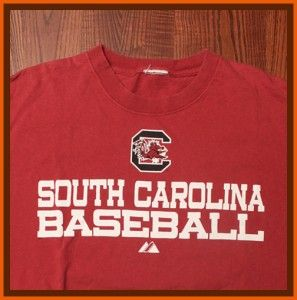 University of South Carolina Gamecocks Baseball Logo Maroon Medium