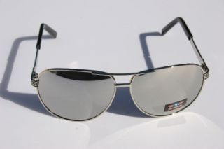 force Classic Aviator Sunglasses full MIRROR lens shades red star #533