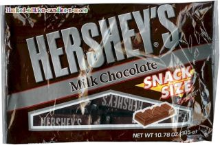 Bag Hersheys Milk Chocolate Original Fun Size Candy