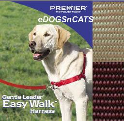 Gentle Leader Easy Walk Harness Dog Fawn Medium Large
