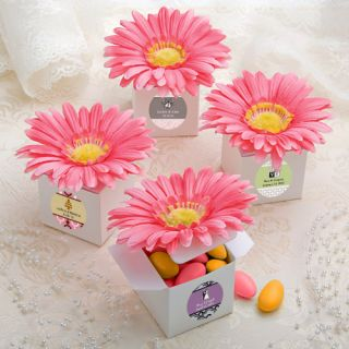 48 Pink Gerbera Gerber Daisy Wedding Bridal Shower Sweet 16 Boxes