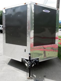 New 8 5 x 18 Enclosed Custom Trailer Bike Car Hauler GR