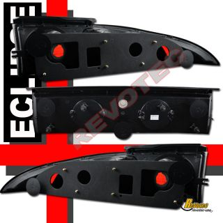 99 MITSUBISHI ECLIPSE HALO PROJECTOR HEADLIGHTS G2 & TAIL LIGHTS BLACK