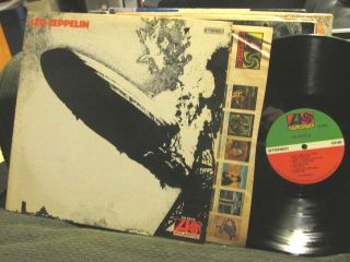Led Zeppelin I 1st Self Titled 1969 LP sd8216 debut atlantic s t rare