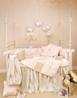Glenna Jean Olivia 6 Piece Crib Set Baby Bedding New