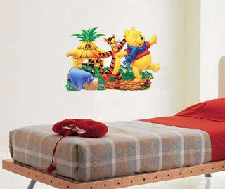 Pooh Eeyore Tiger Treehouse Giant 33 Wall Stickers Kids Decor
