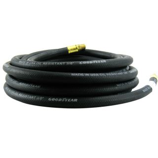 New Goodyear 3 8 x 50 Rubber Air Compressor Hose Heavy Duty Tools BK