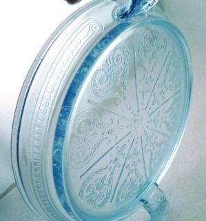 Vintage Fire King Oven Glass Ware Sapphire Hot Plate Table Server