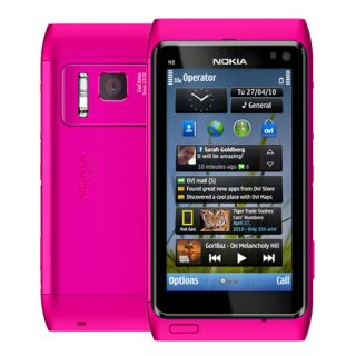 N8 16GB 3G WiFi GPS 12MP Unlocked Cell Phone Pink 758478024515