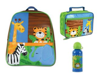 Toddler School Preschool Go Go Backpack Bag Lunch Bottle Set