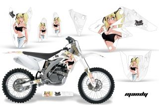 AMR Racing Off Road Dirt Bike Motorcycle Graphics Wrap Suzuki RMZ 250