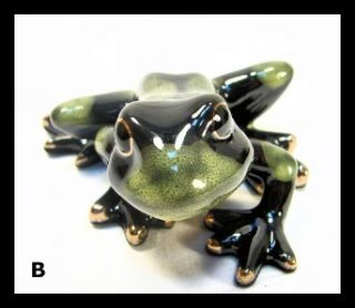 New Golden Pond Collection Green Tree Green Baby Frog