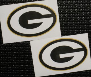 Green Bay Packers Logo Stickers NFL Football