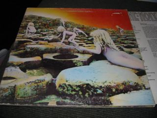 Led Zeppelin Houses of the Holy LP sterling rl sd7255 superhype