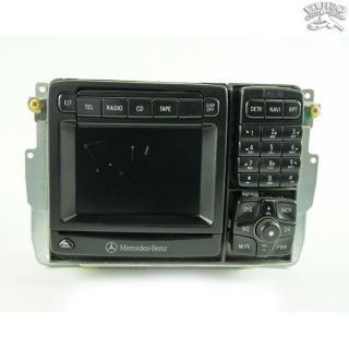 COMAND NAVIGATION GPS RADIO UNIT Mercedes W215 W220 00 01 CL500 S430