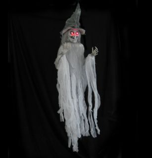 Lighted Talking Hanging Halloween Party Haunted House Prop 5 Feet
