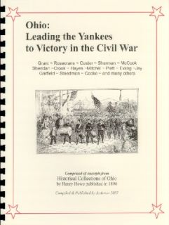 CIVIL WAR~OHIO LEADERS STANTON~JAY COOKE~SHERMAN~GRANT~SHERIDAN