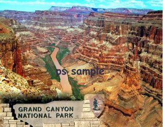 Arizona Grand Canyon National Park Travel Souvenir Fridge Magnet