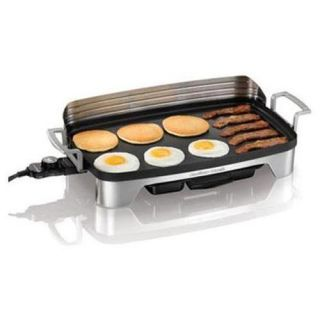 Hamilton Beach Cookware Electric Griddle Grill Pan Black Indoor Model
