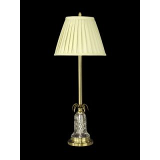 Dale Tiffany 31 One Light Crystal Buffet Lamp in Antique Brass