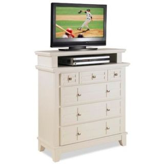 Home Styles Arts & Crafts 4 Drawer 36 TV Media Chest   5180 041