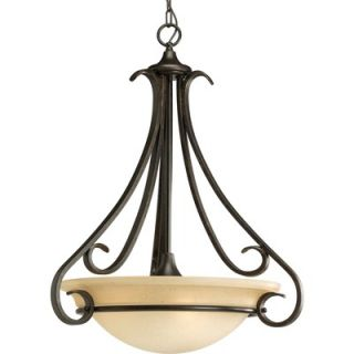 Progress Lighting Torino 3 Light Inverted Pendant   P3847 77