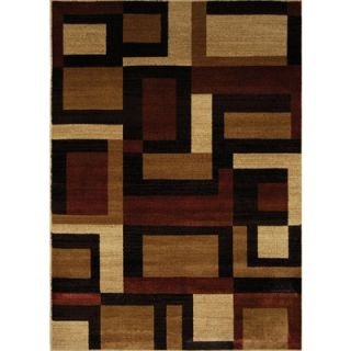 Home Dynamix Marquis Brown/Red Rug   12003 539