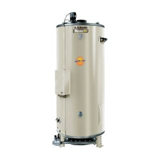 Smith Commercial Tank Type Water Heater Nat Gas 98 Gal Master Fit