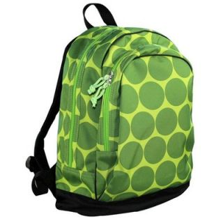 Wildkin Big Dots Backpack in Green