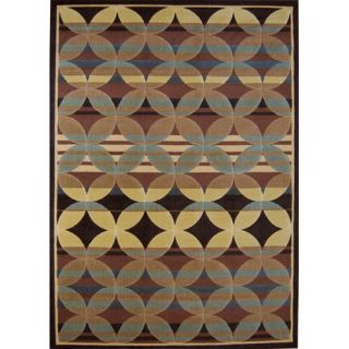Home Dynamix Catalina Brown/Blue Rug   4480 530