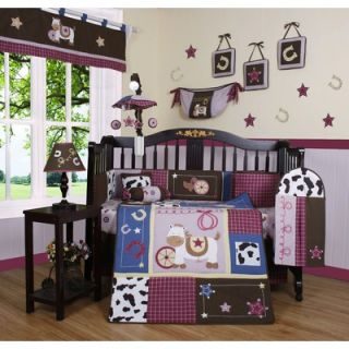 Geenny Boutique Western Cowgirl 13 Piece Crib Bedding Set   CRIB CF