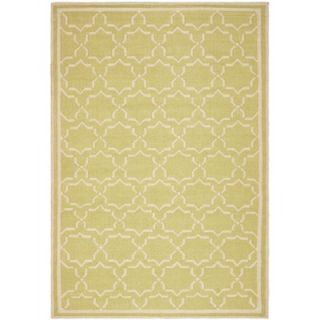 Safavieh Dhurries Light Green/Ivory Rug