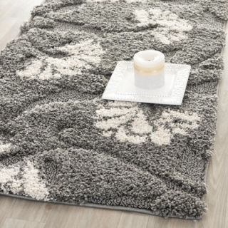 Safavieh Florida Shag Light Grey Rug   SG459 8013
