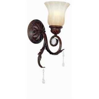 World Imports Lighting Berkeley Square Wall Sconce in Weathered
