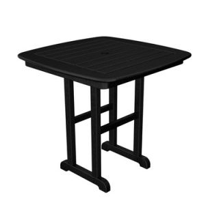 Polywood Nautical Square Bar Table